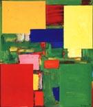 Equipoise, 1958 - Hans Hofmann reproduction oil painting