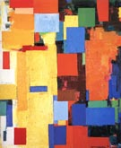 Equinox, 1958 - Hans Hofmann reproduction oil painting