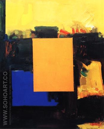 Ora Pro Nobis, 1964 - Hans Hofmann reproduction oil painting