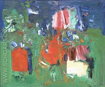 Summer Bliss, 1960 - Hans Hofmann reproduction oil painting