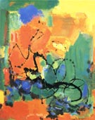 Burning Bush, 1959 - Hans Hofmann reproduction oil painting