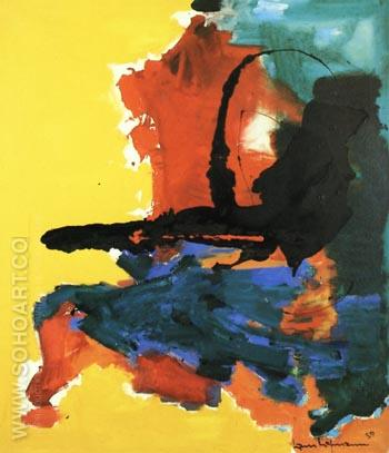 Chimera, 1959 - Hans Hofmann reproduction oil painting