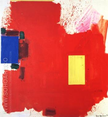 Magnum Opus, 1962 - Hans Hofmann reproduction oil painting