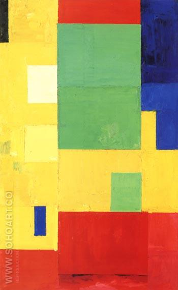 Combinable Wall l, 1961 - Hans Hofmann reproduction oil painting