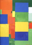 Combinable Wall ll, 1961 - Hans Hofmann reproduction oil painting