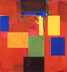 Sanctum Sanctorum, 1962 - Hans Hofmann reproduction oil painting