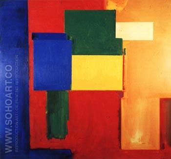 To Miz-Pax Vobiscum, 1964 - Hans Hofmann reproduction oil painting