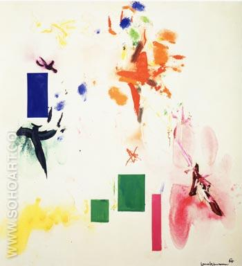Joy Sparks of the Gods ll, 1965 - Hans Hofmann reproduction oil painting
