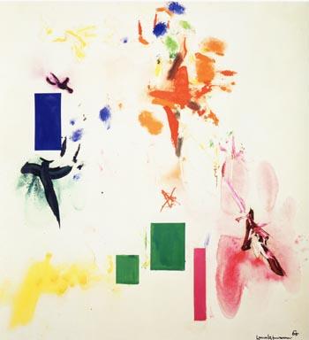 Joy Sparks of the Gods ll, 1965 - Hans Hofmann reproduction oil painting