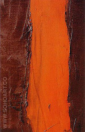 Detail of End of Silence 1949 - Barnett Newman reproduction oil painting