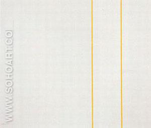 The Moment I 1962 - Barnett Newman reproduction oil painting