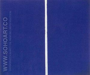 Onement VI 1953 - Barnett Newman reproduction oil painting