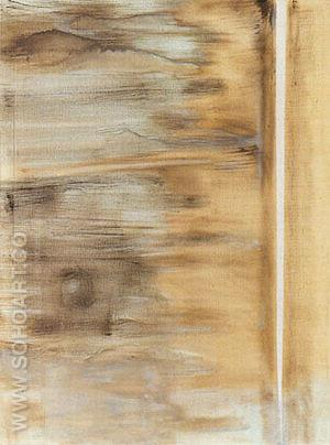The Word I 1946 - Barnett Newman reproduction oil painting