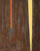 Untitled 1946 - Barnett Newman reproduction oil painting