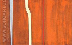 No 28 Untitled 1946 - Barnett Newman reproduction oil painting