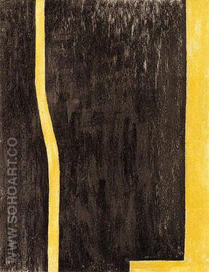 Euclidian Abyss 1946-47 - Barnett Newman reproduction oil painting
