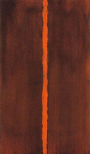 Onement I 1948 - Barnett Newman reproduction oil painting
