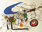 Pygmies Beneath The Moon - Joan Miro reproduction oil painting