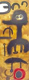 Peinture 1953 - Joan Miro reproduction oil painting