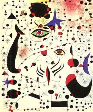 Constellations - Joan Miro reproduction oil painting