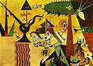 The Tilled Field 1923-24 - Joan Miro reproduction oil painting