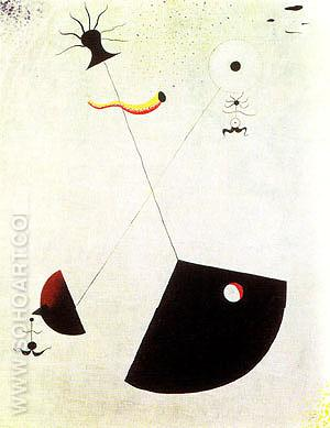 Maternity 1924 - Joan Miro reproduction oil painting