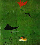 Gentleman 1924 - Joan Miro reproduction oil painting
