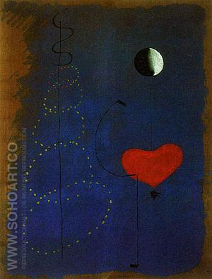 Dancers 1925 - Joan Miro reproduction oil painting