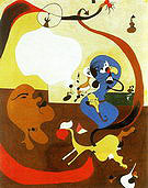 Dutch Interior II 1928 - Joan Miro reproduction oil painting