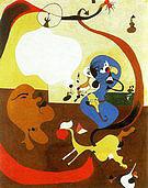 Dutch Interior II 1928 - Joan Miro reproduction oil painting