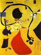 Dutch Interior III 1928 - Joan Miro reproduction oil painting