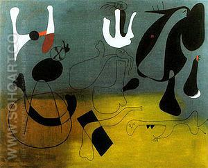 Painting A 1933 - Joan Miro reproduction oil painting