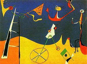 Circus 1934 - Joan Miro reproduction oil painting