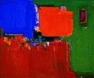 Indian Summer 1959 - Hans Hofmann reproduction oil painting