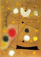 Painting on Celotex 1937 - Joan Miro reproduction oil painting