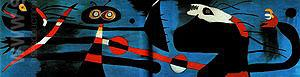 Decoration of a Nursery 1938 - Joan Miro reproduction oil painting