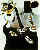 Seated Woman II 1938 - Joan Miro reproduction oil painting