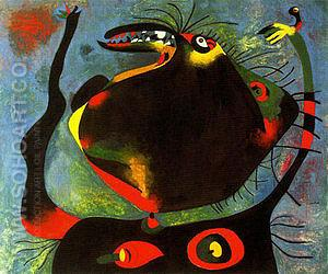 Head of a Woman 1938 - Joan Miro reproduction oil painting