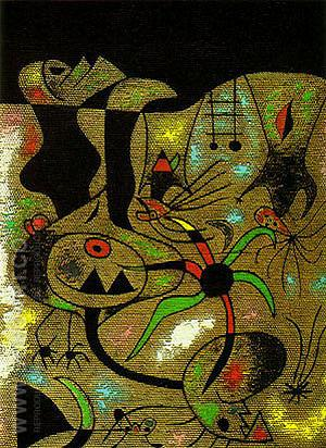 The Escape Ladder 1939 - Joan Miro reproduction oil painting