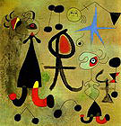 Hope 9-7-1946 - Joan Miro reproduction oil painting