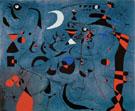 Personnage dans le Nuit - Joan Miro reproduction oil painting