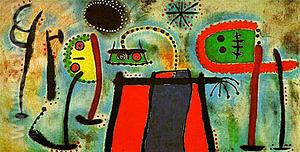 Painting 1953 - Joan Miro reproduction oil painting