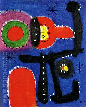 Painting 1954 - Joan Miro reproduction oil painting