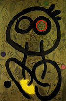 Self-Portrait 1937 1960 - Joan Miro reproduction oil painting