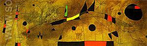 Mural Painting 1961 - Joan Miro reproduction oil painting