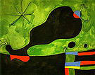 message from a Friend 1964 - Joan Miro reproduction oil painting
