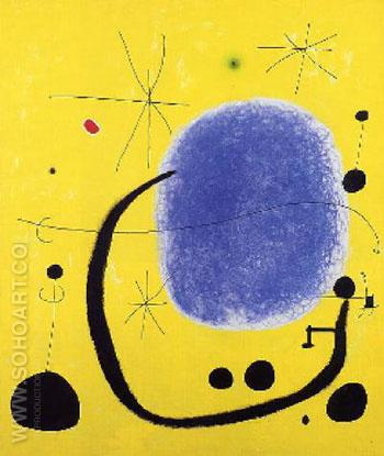 The Gold of the Azure 1967 - Joan Miro reproduction oil painting