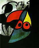 Woman Bird 1974 - Joan Miro reproduction oil painting