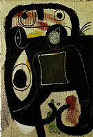 Woman 5-3-1976 - Joan Miro reproduction oil painting