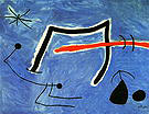 Personages Birds Star 1978 - Joan Miro reproduction oil painting